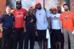 Jani-King and BC Lions