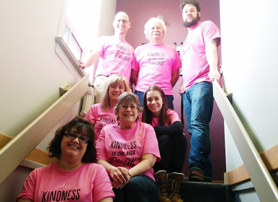 Jani-King Supports #pinkshirtday in Winnipeg