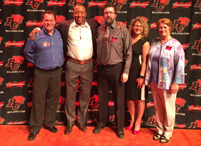 Jani-King Attends 5th Annual Draft-A-Lion Event in Vancouver