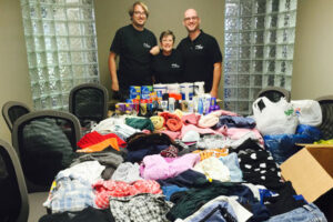 Jani-King in Winnipeg | Siloam Mission Donation Drive