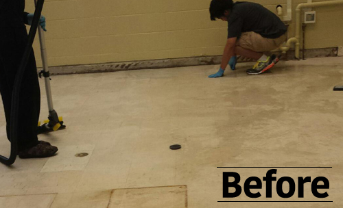 Jani-King Nova Scotia Floor Care (Before)
