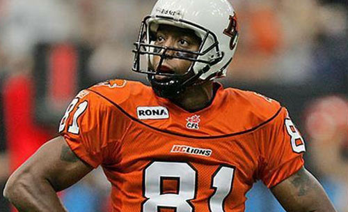 Jani-King Vancouver Drafts BC Lion Geroy Simon