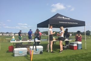 Jani-King Sponsors Hole at National Charity Classic Golf Tournament