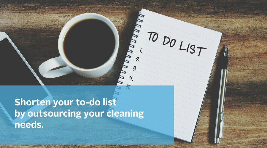 5 things you never have to think about again when you outsource your commercial cleaning