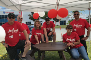 Jani-King hosts fundraising BBQ at Dartmouth Canadian Red Cross