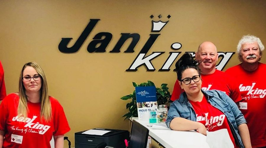 Jani-King hosts fundraising BBQ in Winnipeg in support of The Canadian Red Cross