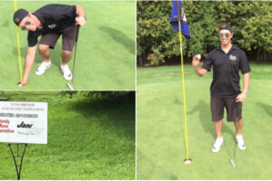 Rob's hole in one