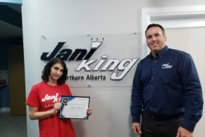 Jani-King of Northern Alberta Welcomes New Franchise Owner Sara Akawi