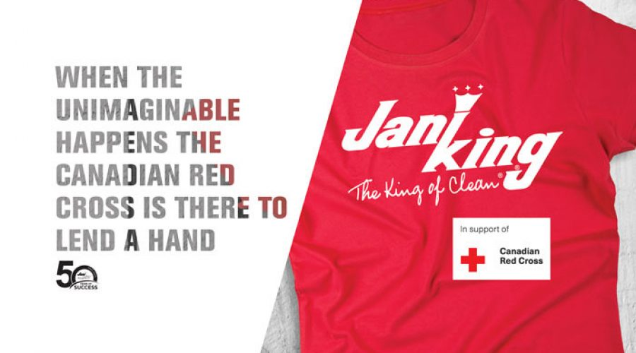 Jani-King Goes Red in Support of the Canadian Red Cross
