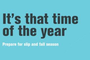 Slip & Fall Prevention