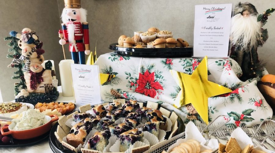 Jani-King Franchise Owner Hosts Christmas Coffee Hour