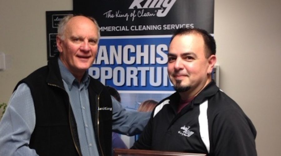 Gabriel Garcia Celebrates 15 Years with Jani-King of Southern British Columbia