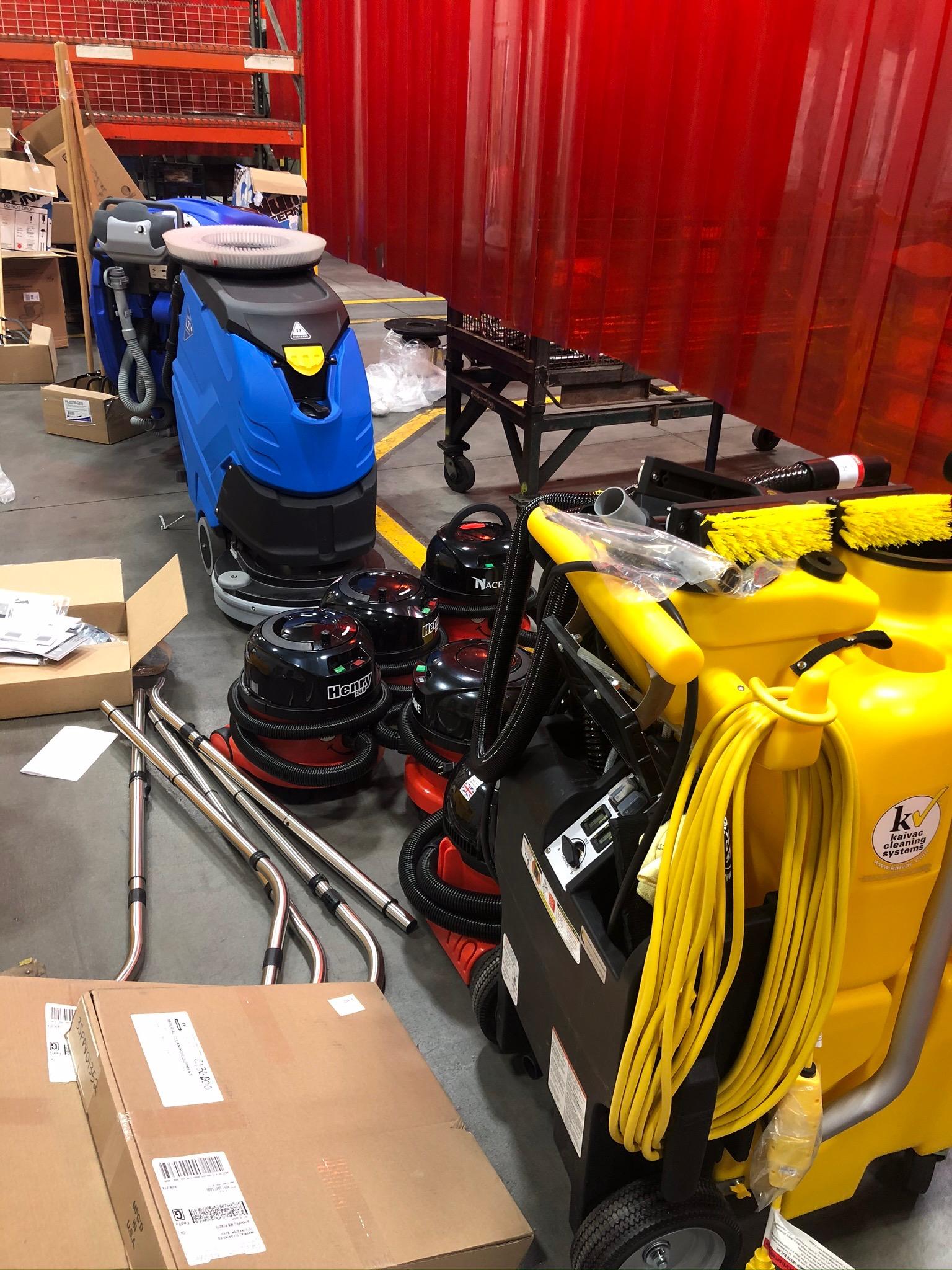 Supplies at the Polaris Facility
