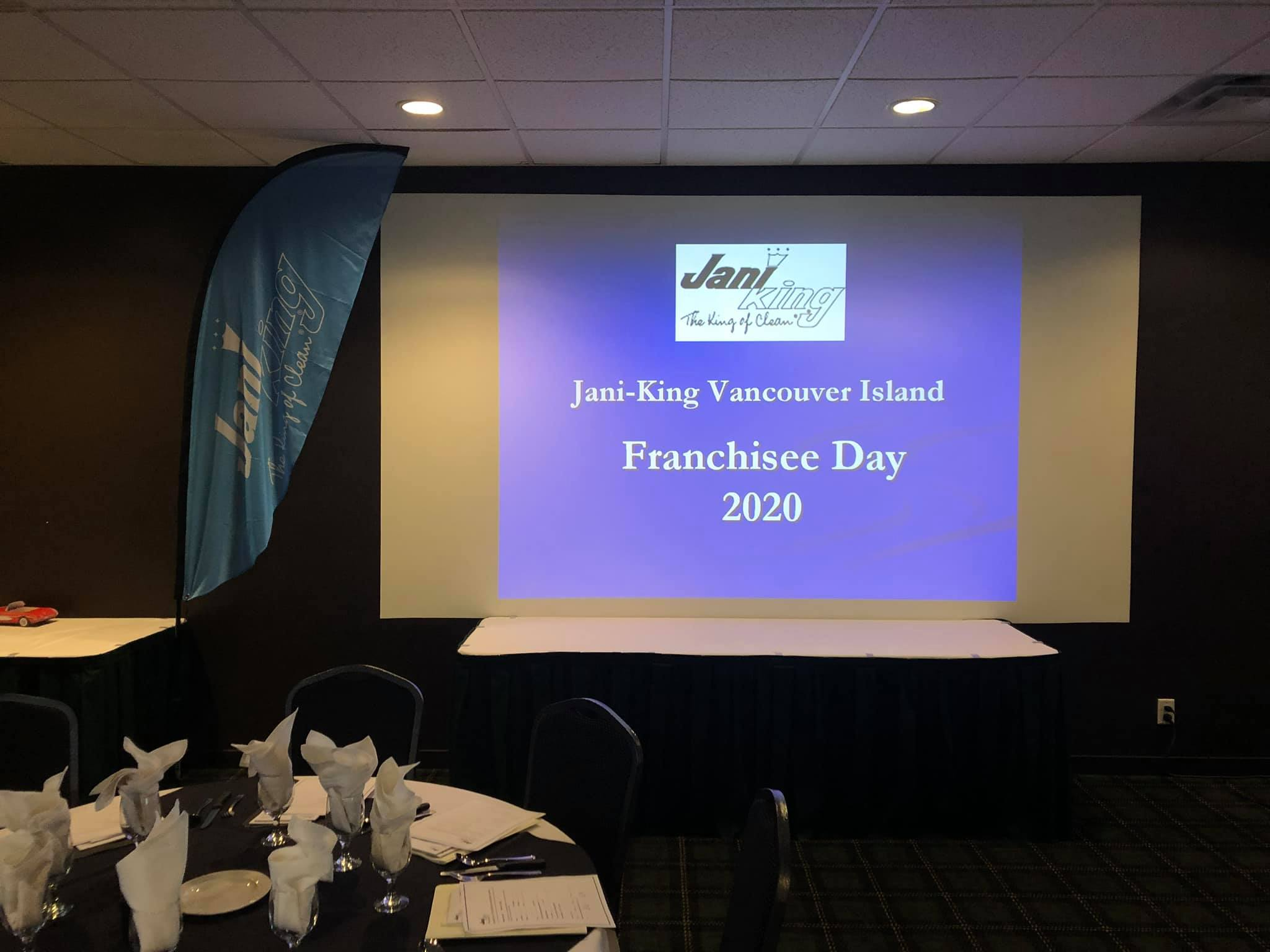Jani-King Vancouver Island Franchisee Day