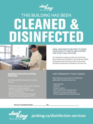 Disinfecting Flyer