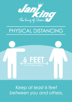 Physical Distancing Poster
