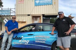 Jani-King of Vancouver Island Supports HeroWork