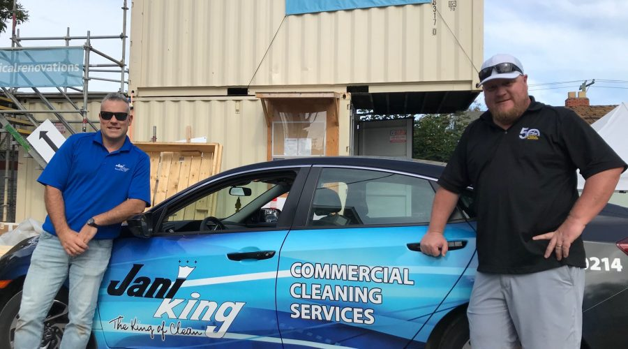Jani-King of Vancouver Island Supports HeroWork Charity
