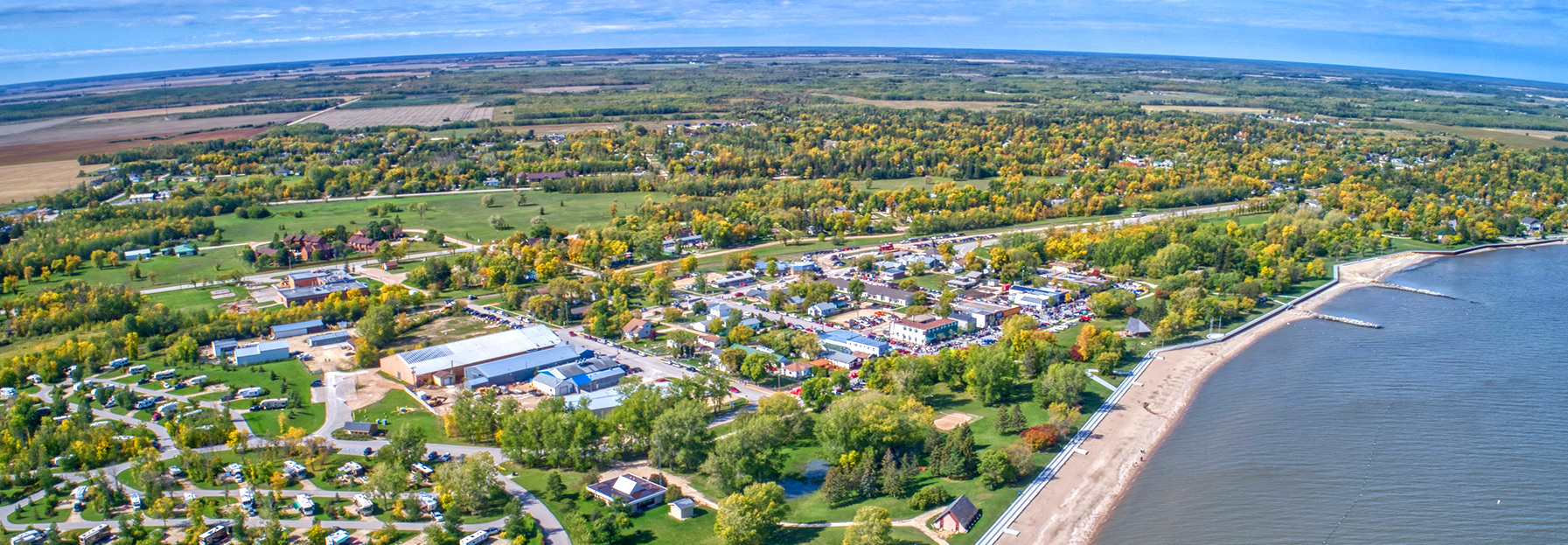 Southern Manitoba Skyline Image