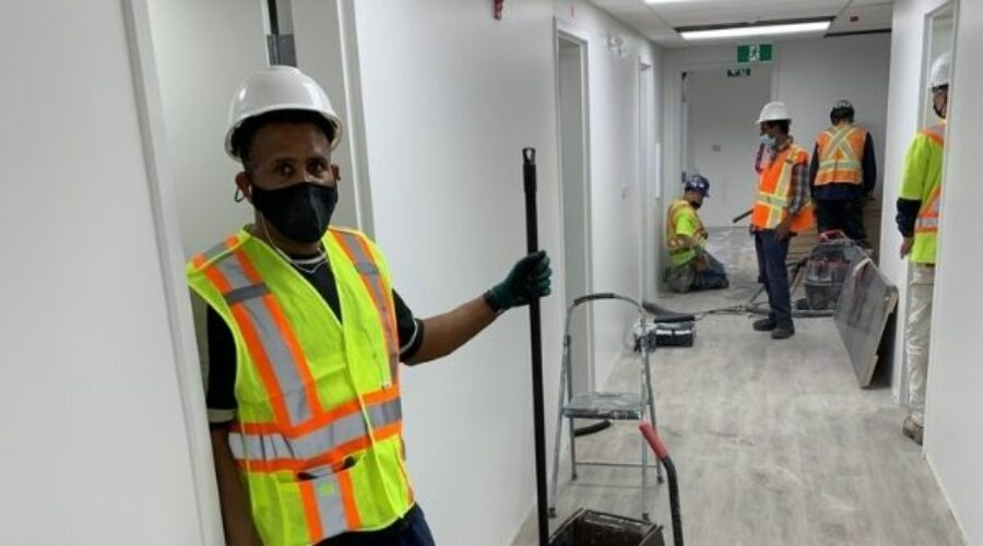 Post-Construction Cleaning Completed at Bruce Oake Recovery Centre