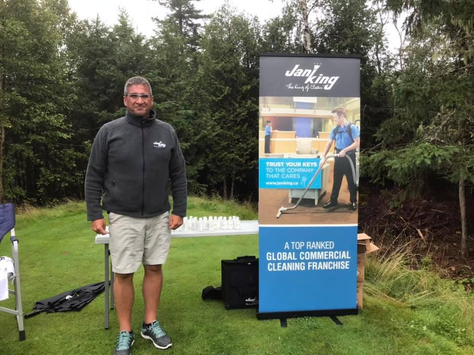 Robert McNamara at Golf Tournament